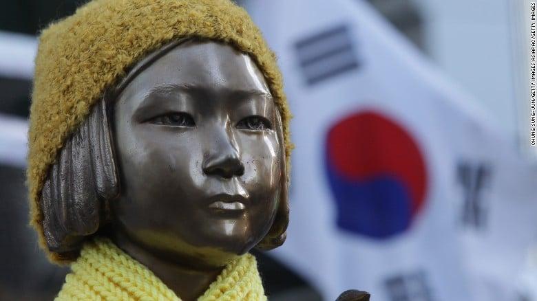 South Korean comfort woman statue